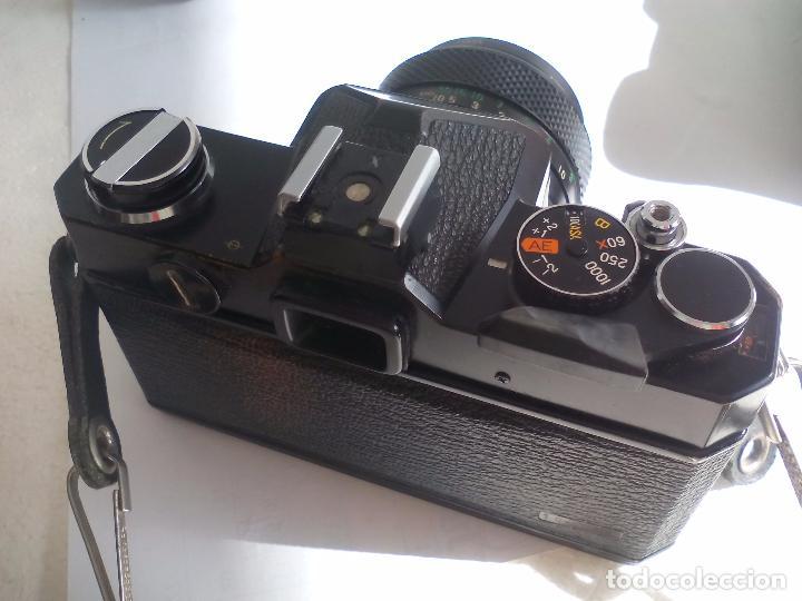 Cámara de fotos: Fujica AZ-1. Objetivo Fujinon 1:18. F= 55 mm. Con su funda. Cámara fotográfica. - Foto 13 - 80081577