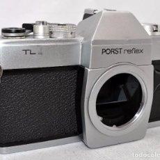 Cámara de fotos: EXCELENTE CUERPO DE CAMARA REFLEX..JAPON 1973..PORST REFLEX TL..MUY BUEN ESTADO..FUNCIONA. Lote 80858427