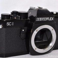 Cámara de fotos: ;EXCELENTE REFLEX JAPONESA..REVUEFLEX SC 1(CHINON)..SOLO CUERPO..MUY BUEN ESTADO..FUNCIONA..OCASION. Lote 81062404
