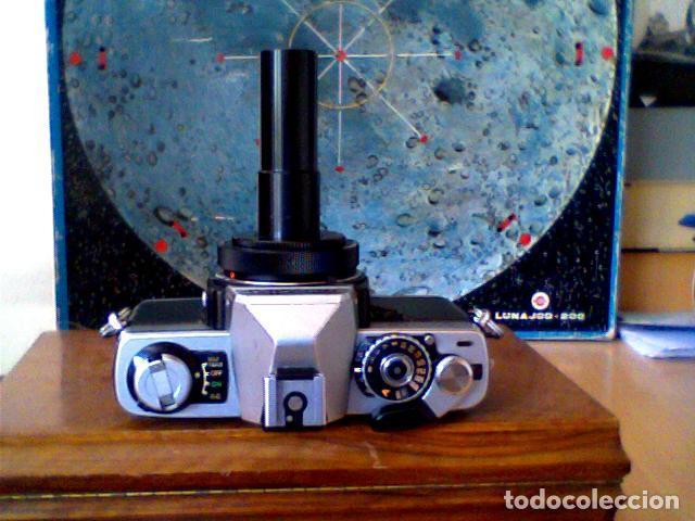 Cámara de fotos: CAMARA FOTOGRAFICA REFLEX MINOLTA XG2 CON ADAPTADOR TELESCOPIO - Foto 2 - 83578856