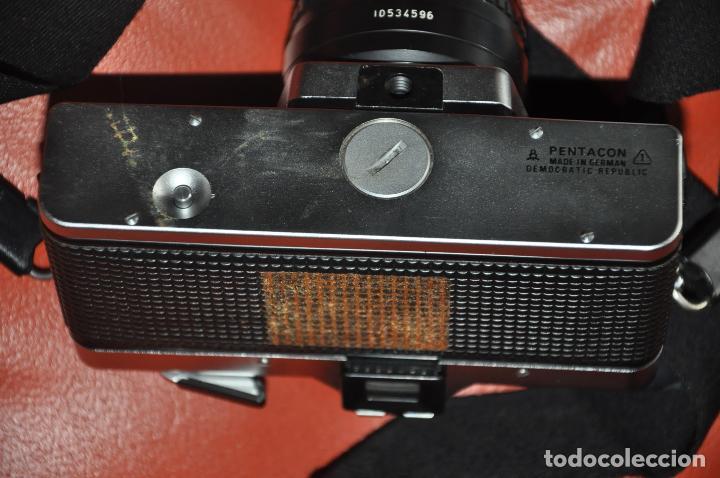 Cámara de fotos: CAMARA PRAKTICA SUPER TL 1000 , DOMIPLAN 2.8 / 50 , BOLSO , PRAKTICA 1 : 2.8 135 MM. ETC - Foto 3 - 85430756