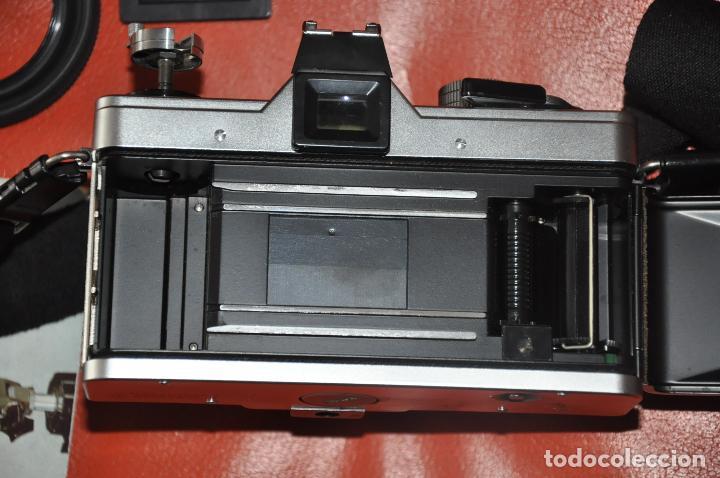 Cámara de fotos: CAMARA PRAKTICA SUPER TL 1000 , DOMIPLAN 2.8 / 50 , BOLSO , PRAKTICA 1 : 2.8 135 MM. ETC - Foto 4 - 85430756