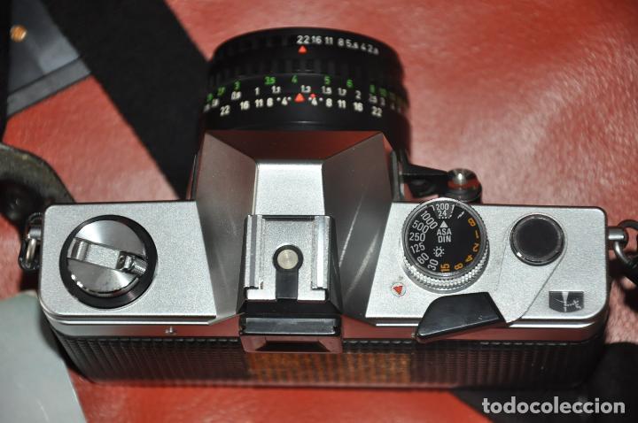 Cámara de fotos: CAMARA PRAKTICA SUPER TL 1000 , DOMIPLAN 2.8 / 50 , BOLSO , PRAKTICA 1 : 2.8 135 MM. ETC - Foto 5 - 85430756