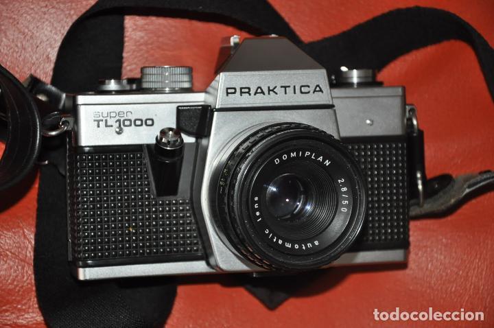 Cámara de fotos: CAMARA PRAKTICA SUPER TL 1000 , DOMIPLAN 2.8 / 50 , BOLSO , PRAKTICA 1 : 2.8 135 MM. ETC - Foto 6 - 85430756