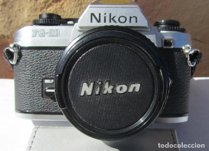 NIKON FG-20. 50MM. 1:1,8 (Cámaras Fotográficas - Réflex (no autofoco))