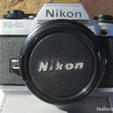 Cámara de fotos: NIKON FG-20. 50MM. 1:1,8. Lote 85436980
