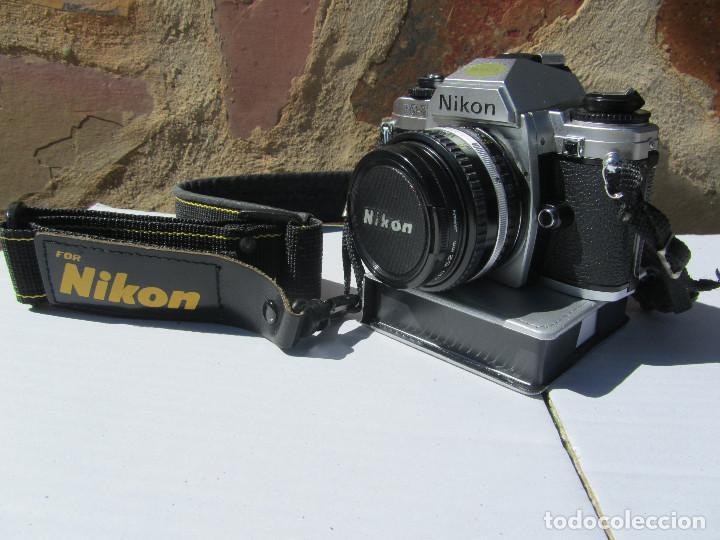 Cámara de fotos: NIKON FG-20. 50mm. 1:1,8 - Foto 4 - 85436980