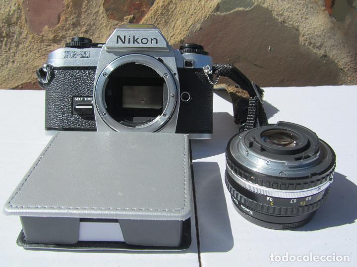 Cámara de fotos: NIKON FG-20. 50mm. 1:1,8 - Foto 6 - 85436980