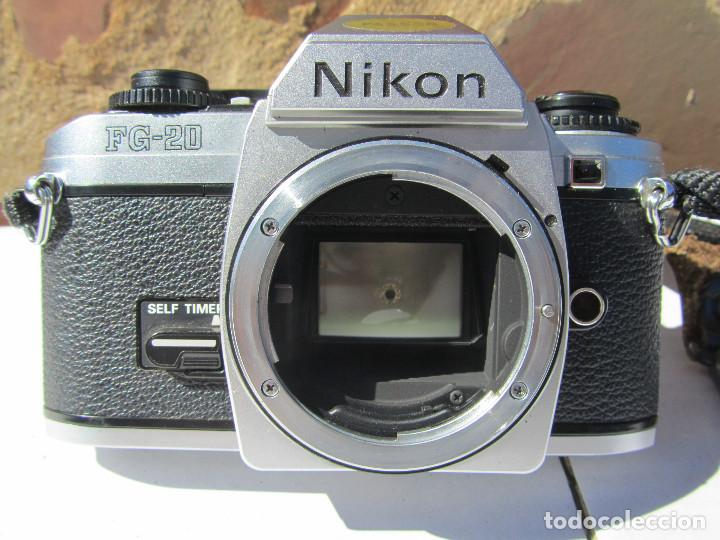 Cámara de fotos: NIKON FG-20. 50mm. 1:1,8 - Foto 7 - 85436980