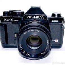 Cámara de fotos: CÁMARA YASHICA FX-3 SUPER 2000,KYOCERA. Lote 85829780