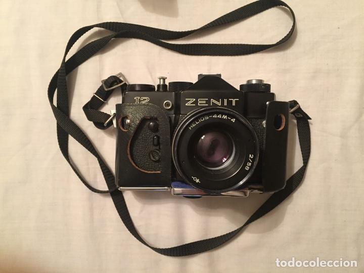 Cámara de fotos: Cámara Zenit 12. 1983. Con funda. Incluye flash starcolor - Foto 6 - 87412276