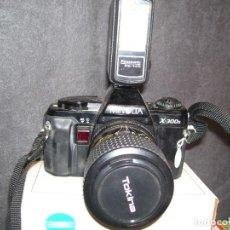 Cámara de fotos: CÁMARA MINOLTA X-300 S CON OBJETIVO 35-70 MM. Lote 89255672