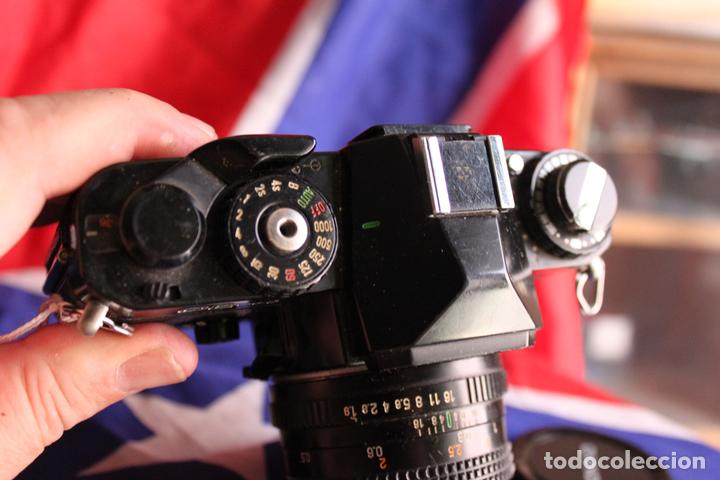 Cámara de fotos: Cámara Chinon CE-4 + Objetivo 50mm 1:1,9 - Foto 2 - 89734712