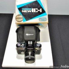 Cámara de fotos: CAMARA REFLEX TOPCON NEW IC-1 2,8/50 CON CAJA Y FUNDA. Lote 91446295