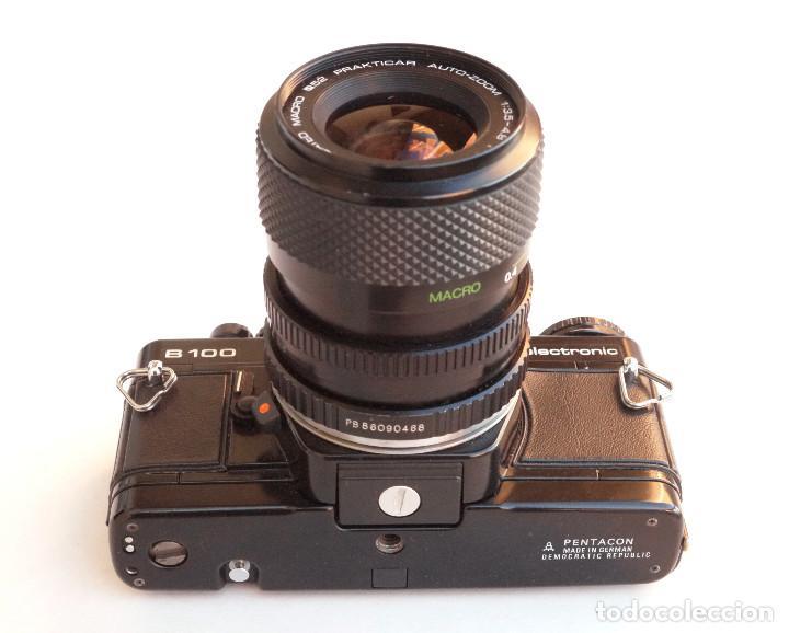 Cámara de fotos: *1983* • Pentacon Praktica B100 SLR Obj. f1.8 50mm + Obj. Macro-Zoom 35-70 mm • PROBADA / MALETÍN - Foto 4 - 95778055