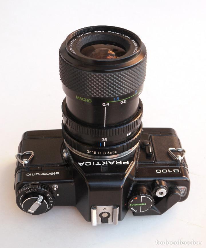 Cámara de fotos: *1983* • Pentacon Praktica B100 SLR Obj. f1.8 50mm + Obj. Macro-Zoom 35-70 mm • PROBADA / MALETÍN - Foto 5 - 95778055