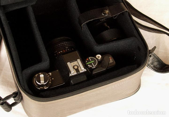 Cámara de fotos: *1983* • Pentacon Praktica B100 SLR Obj. f1.8 50mm + Obj. Macro-Zoom 35-70 mm • PROBADA / MALETÍN - Foto 7 - 95778055