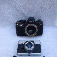 Cámara de fotos: CUERPO CAMARA REFLEX PRAKTICA BX20. BEIRRETE K100 Y CORREA ORIGINAL..DEFECTUOSAS.. Lote 96965011