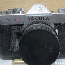 Cámara de fotos: CÁMARA JAPONESA 'YASHICA TL ELECTRO X' (1970) - CON SU FUNDA ORIGINAL. Lote 97947123