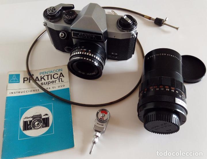 Praktica super tl objetivo meyer domiplan 2 8 5 comprar cámaras