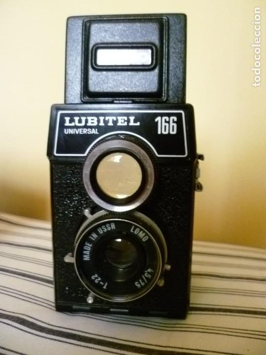 Cámara de fotos: CÁMARA LOMO LUBITEL UNIVERSAL 166 CON FUNDA Y FLASH. URSS. RUSA - Foto 8 - 99283787