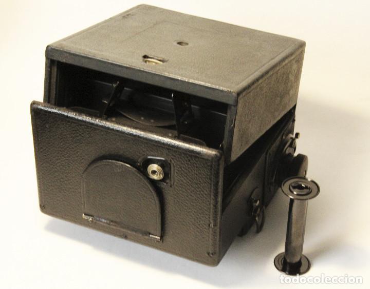 Cámara de fotos: Rara y escasa Houghton Ensign Roll Fim Reflex. Madera. Fuelle - Foto 10 - 99293151