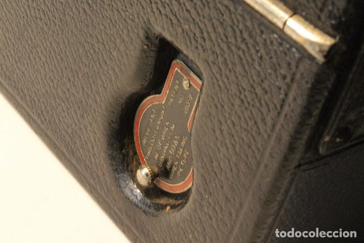 Cámara de fotos: Rara y escasa Houghton Ensign Roll Fim Reflex. Madera. Fuelle - Foto 16 - 99293151