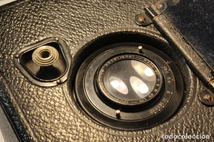 Cámara de fotos: Rara y escasa Houghton Ensign Roll Fim Reflex. Madera. Fuelle - Foto 18 - 99293151