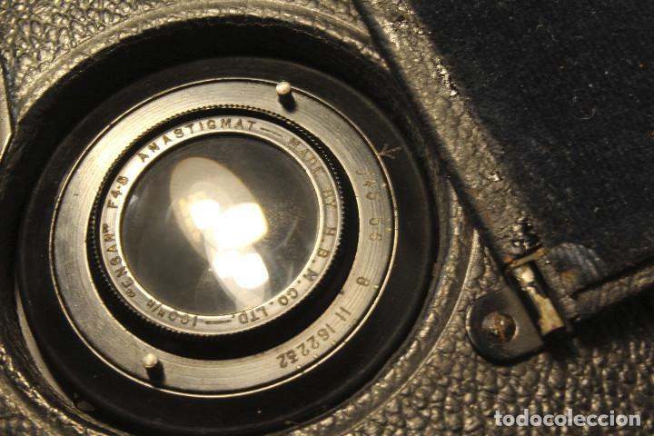 Cámara de fotos: Rara y escasa Houghton Ensign Roll Fim Reflex. Madera. Fuelle - Foto 19 - 99293151