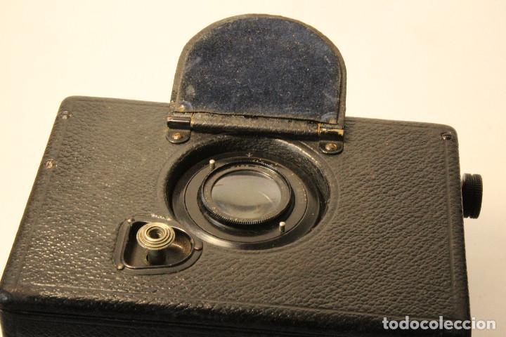 Cámara de fotos: Rara y escasa Houghton Ensign Roll Fim Reflex. Madera. Fuelle - Foto 20 - 99293151
