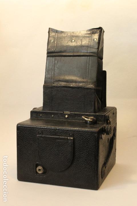 Cámara de fotos: Rara y escasa Houghton Ensign Roll Fim Reflex. Madera. Fuelle - Foto 21 - 99293151