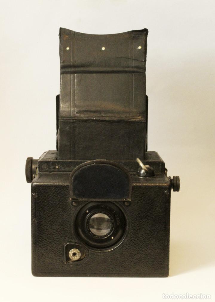 Cámara de fotos: Rara y escasa Houghton Ensign Roll Fim Reflex. Madera. Fuelle - Foto 22 - 99293151