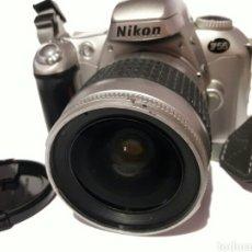 Cámara de fotos: CÁMARA ANTIGUA NIKON F55 CON OBJETIVO NIKON AF. Lote 161672406