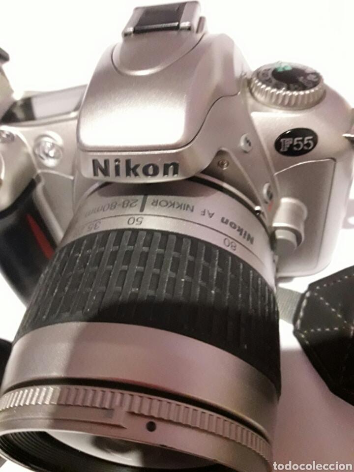 Cámara de fotos: Cámara antigua Nikon F55 con objetivo Nikon AF - Foto 2 - 161672406