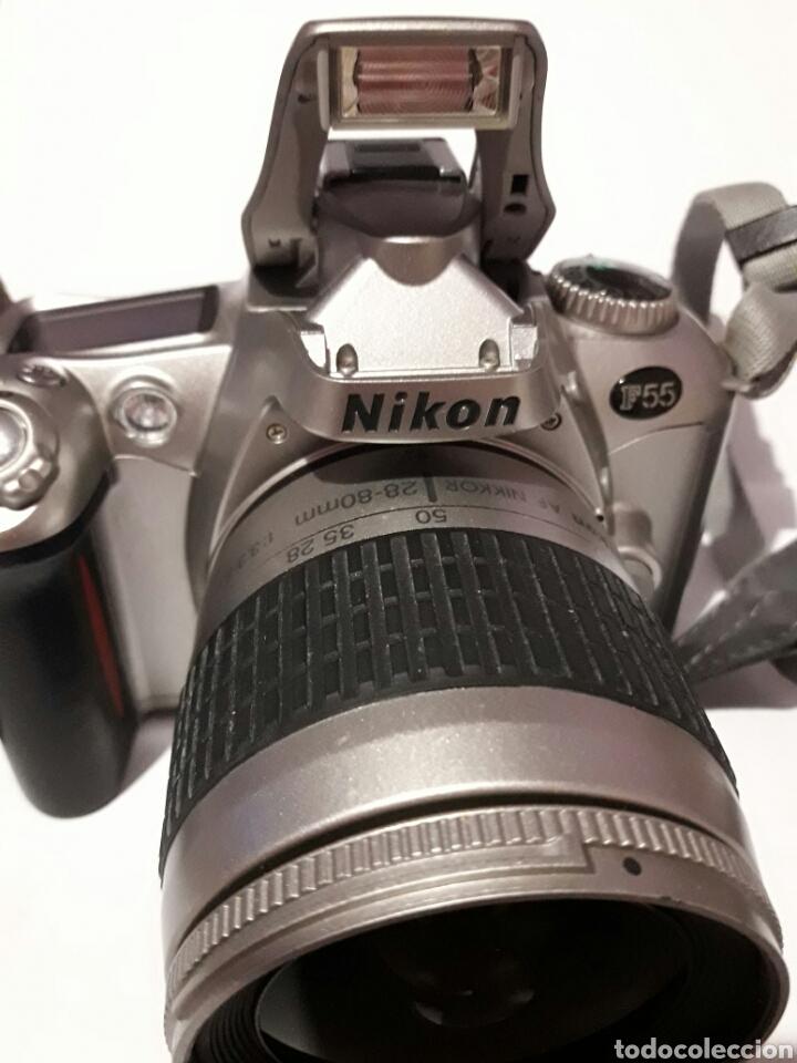 Cámara de fotos: Cámara antigua Nikon F55 con objetivo Nikon AF - Foto 3 - 161672406