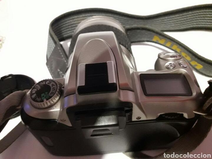 Cámara de fotos: Cámara antigua Nikon F55 con objetivo Nikon AF - Foto 5 - 161672406