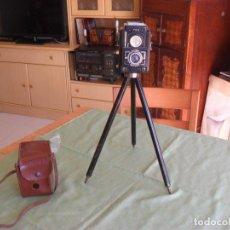 Cámara de fotos: ANTIGUA CAMARA FOTOS FEX,CON TRIPODE Y FUNDA. Lote 99729879