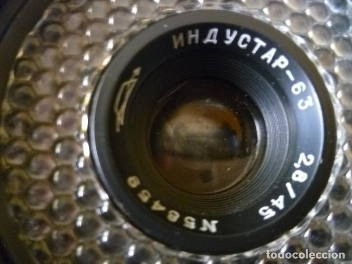 Cámara de fotos: CÁMARA RUSA, URSS, ZORKI 10.CON FUNDA DE CUERO, CAJA E INSTRUCCIONES - Foto 7 - 99909715