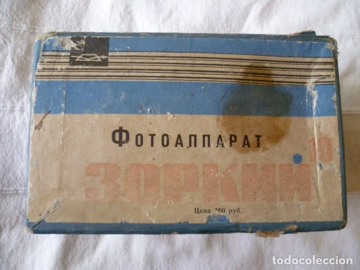 Cámara de fotos: CÁMARA RUSA, URSS, ZORKI 10.CON FUNDA DE CUERO, CAJA E INSTRUCCIONES - Foto 12 - 99909715