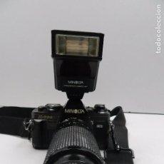 Cámara de fotos: ANTIGUA MINOLTA X-700 + OBJETIVO 70 - 210 MM /1:4.5-5.6 JAPON. Lote 102553719