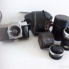 Cámara de fotos: CAMARA REFLEX - TOPCON UNI - AÑOS 60. Lote 103413787
