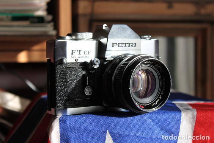 CÁMARA PETRI FT EE + 55MM 1:1,8 (Cámaras Fotográficas - Réflex (no autofoco))