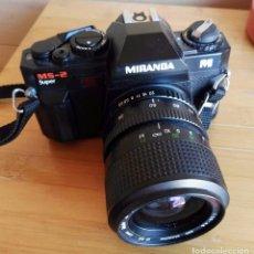 Cámara de fotos: CÁMARA MIRANDA MS-2 SUPER OBJETIVO MIRANDA 35-70 MC MACRO 55 O BAYONETA PENTAX. Lote 132637794