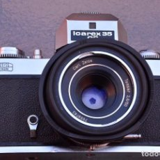 Cámara de fotos: ZEISS-IKON-ICAREX-35CS-SLR-WITH-CARL-ZEISS-TESSAR-50-2-8. Lote 104603991