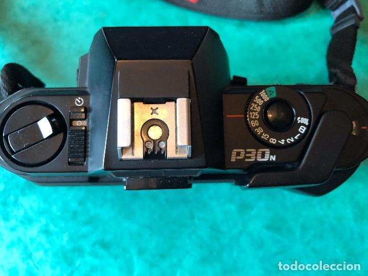 Cámara de fotos: Cuerpo cámara Pentax P30N 35mm FUNCIONAL + manuales + funda - Foto 2 - 105354007