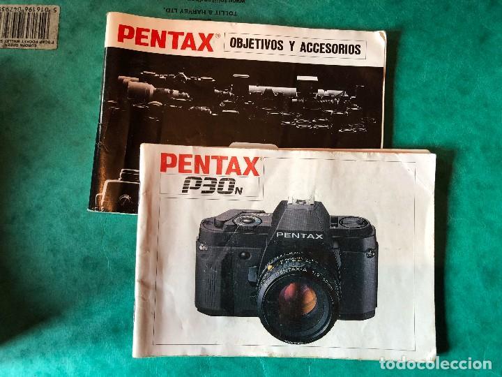 Cámara de fotos: Cuerpo cámara Pentax P30N 35mm FUNCIONAL + manuales + funda - Foto 6 - 105354007