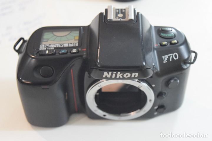 NIKON F 70 PARA PIEZAS (Cámaras Fotográficas - Réflex (no autofoco))