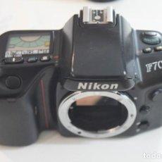 Cámara de fotos: NIKON F 70 PARA PIEZAS. Lote 107085659
