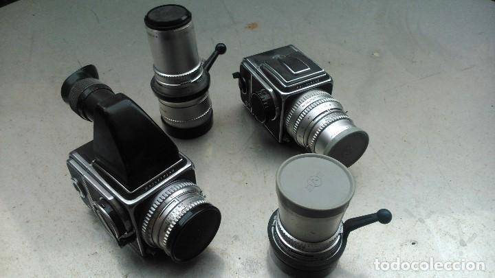 HASSELBLAD 500/C Y 500C/M POR SÓLO DOS MIL QUINIENTOS EUROS CON CUATRO OBJETIVOS (Cámaras Fotográficas - Réflex (no autofoco))