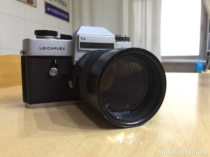 Cámara de fotos: LEICAFLEX SL CON OBJETIVO TAMRON 135MM F 2.5 - Foto 3 - 108301343